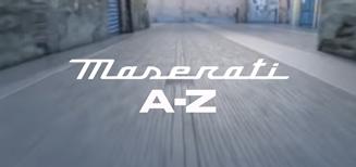 106 ans de Maserati de A à Z