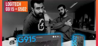 On a reçu le clavier Logitech G915 et la souris G502