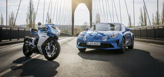 MV Agusta s'associe à la légende du sport automobile Alpine
