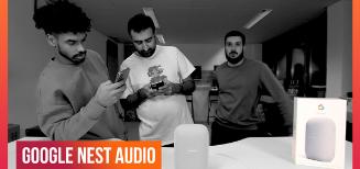 On a reçu l'enceinte Google Nest Audio