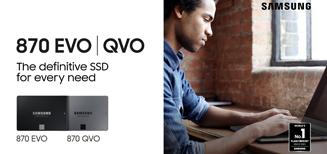 Samsung dévoile le disque dur 870 EVO