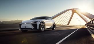 Première mondiale du concept car Lexus LF-Z electrified