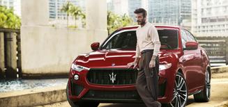 David Beckham nouvel ambassadeur mondial de Maserati