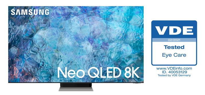 Les téléviseurs Neo QLED reçoivent la première certification VDE «Eye Care» du marché