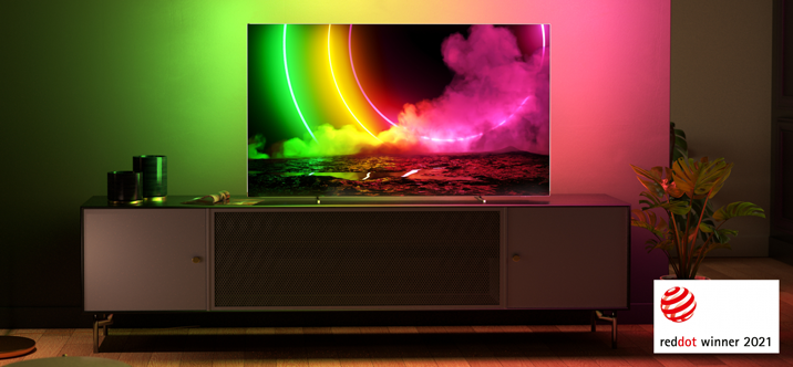 Philips TV & Audio remporte 4 Red Dot Awards 2021