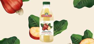 Andros lance une bombe vitaminée avec le tout nouveau jus de Pomme de Cajou