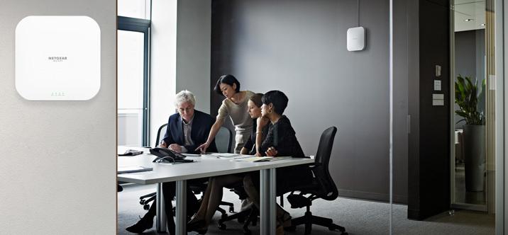 NETGEAR lance le point d'accès WiFi 6 le plus rapide de l'industrie, conçu spécifiquement pour les PME