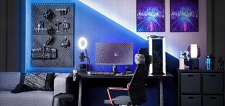 Priorité au jeu: IKEA lance des meubles conçus pour améliorer l'expérience des gamers