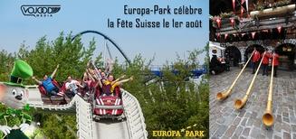 Europa-Park célèbre la Fête Suisse le 1er août