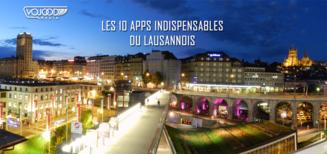 Les 10 apps indispensables du Lausannois