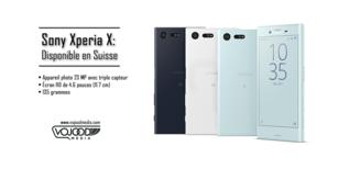 Sony Xperia X: Disponible en Suisse