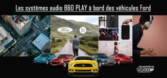 Les systèmes audio B&O PLAY à bord des véhicules Ford