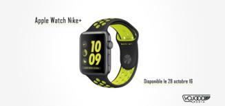 L'Apple Watch Nike+ disponible le vendredi 28 octobre
