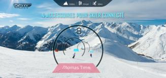 4 Accessoires Pour Skier Connecté