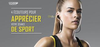 4 Écouteurs Pour Apprécier Votre Séance De Sport