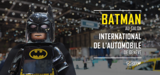[EXCLU] Batman au Salon International de l'Automobile de Genève
