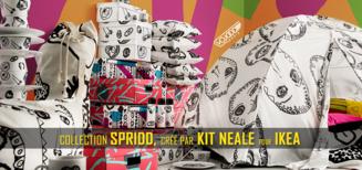 Collection SPRIDD, créé par Kit Neale pour IKEA