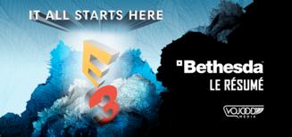 E3 : Résumé des annonces de Bethesda