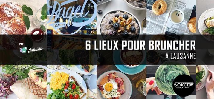 6 Lieux Pour Bruncher À Lausanne