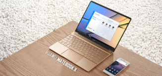 Le Matebook X, le premier Notebook de Huawei, est dès à présent disponible en Suisse