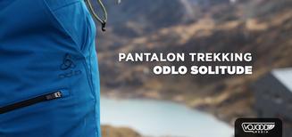 Test du pantalon trekking ODLO SOLITUDE