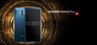 3 raisons de craquer pour le Huawei Mate 10 Pro