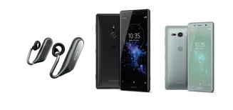 Sony présente les Xperia XZ2 et XZ2 Compact