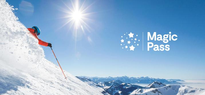 Skier en illimité grâce au Magic Pass