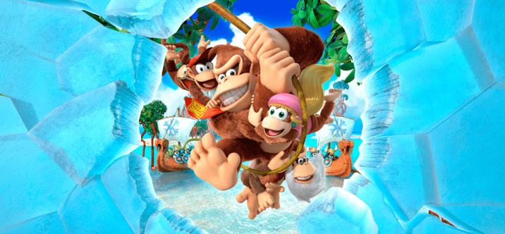 Donkey Kong Country Returns Tropical Freeze débarque sur Switch