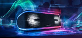 Sony SRS-XB41, l'enceinte Bluetooth qui en jette