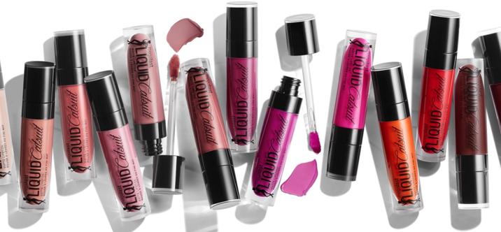 Wet N Wild serie : Liquid Catsuit Matte Lipstick