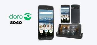 Doro 8040, le smartphone convivial des seniors