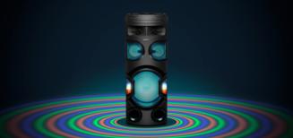 Nouveaux systèmes audio High Power de Sony: la fête jusqu'à en perdre la tête