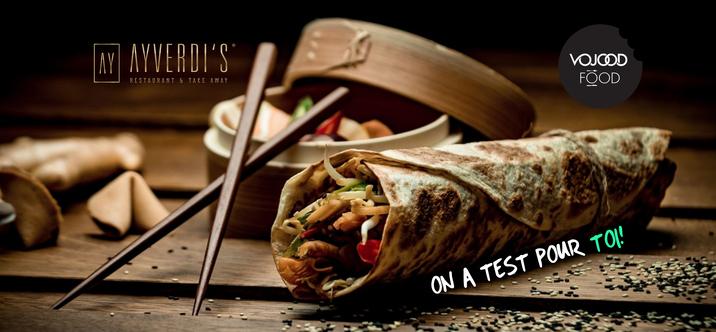 Ayverdi's ou quand la gastronomie s'enroule dans des kebabs