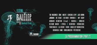 La programmation du Festival Balélec 2019 (Part 2)