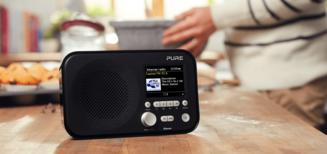 Des enceintes et radios Pure