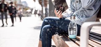 La bouteille tendance «My Only Bottle» – la première bouteille SodaStream nomade