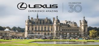 30e Anniversaire Lexus au Festival Chantilly Arts & Elégance Richard Mille 2019