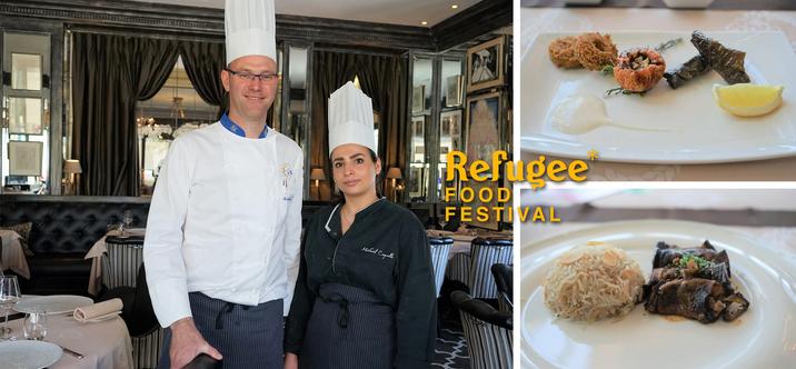 Ne manquez pas le Refugee Food Festival!