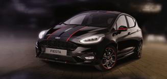 Ford commémore le 60e Rallye International du Valais avec la Fiesta Panther Edition