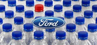 Ford transforme des millions de bouteilles plastiques en tapis pour ses véhicules