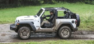 Courant d'air contre la chaleur: la Jeep Wrangler à toit décapotable