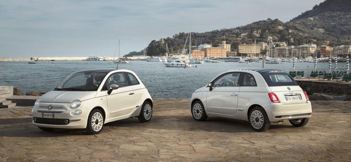 La série spéciale 500 Dolcevita célèbre le 62ème anniversaire de l'iconique modèle de Fiat