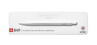 Caran d'Ache et le CICR présentent un stylo porteur d'espoir