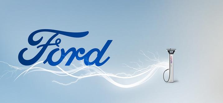 Ford présente son dispositif pour recharger ses véhicules électrifiés