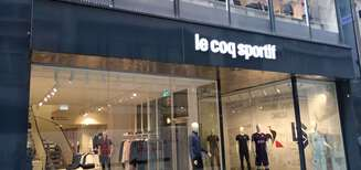 Le coq sportif ouvre son premier magasin suisse à Lausanne