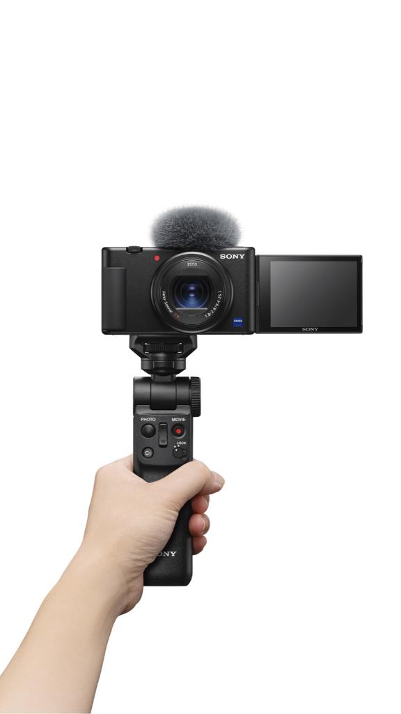 Révélez vos talents avec l'appareil photo Vlog ZV-1 et le caméscope 4K compact FDR-AX43