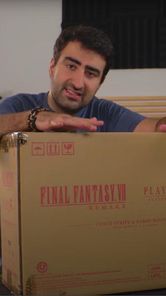 J'ai reçu l'édition 1re classe de Final Fantasy