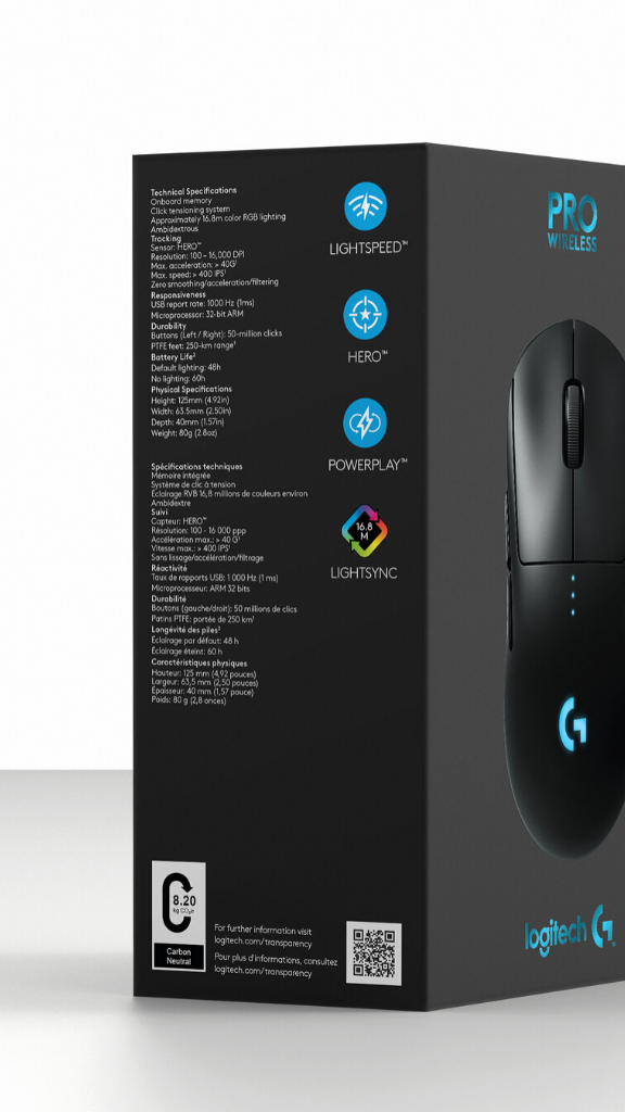 Logitech s'engage pour plus de transparence
