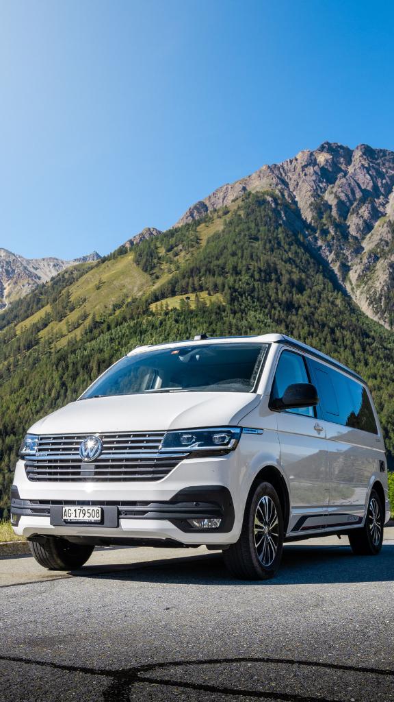 Roadtrip en Suisse avec un Volkswagen California 6.1